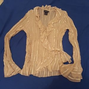 NWOT NY Collection wrap around top
